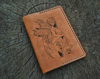 Leather Passport Cover, Game of Thrones, Mother of Dragons, Leather Passport Holder, Leather Passport Wallet, Travel Wallet, Fire and Blood