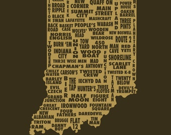 Drink Local- Indiana Beer T-shirt
