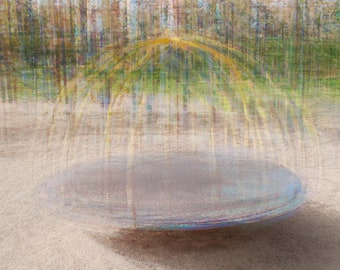 """The playground - Printable file up to 20x26"""" 50x66cm - Fine Art Photography Impressionism - home decor"""