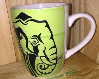 Elephant Coffe Mug