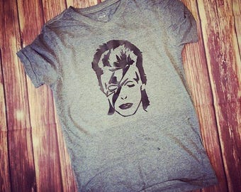 Ziggy Stardust David Bowie T-shirt or onesie