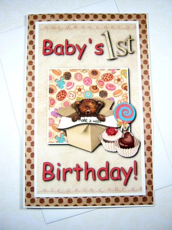 Babys 1st birthday happy birthday card birthday wishes bookmarktalkfo Image collections