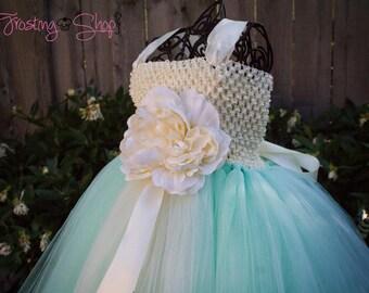 Classic Mint Tutu Dress