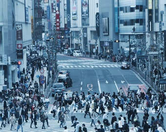 Shibuya Crossing Exclusive A4 Print