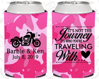 Its not the Journey, Its who your traveling with, Wedding Gift, Motorcycle Wedding, Destination Wedding Gift, Destination Favors (456)