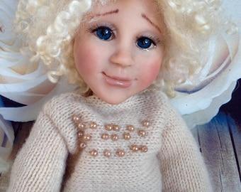 Collectible doll Olinka