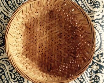 woven winnowing basket