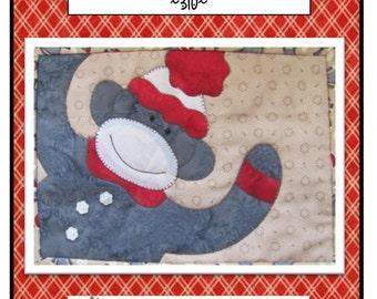 Monkey Love Mug Mat packaged Pattern