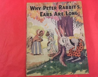 Why Peter Rabbit's Ears Are Long children's book