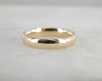 10k Yellow Gold Comfort Fit Wedding Band 25VCYZ-R