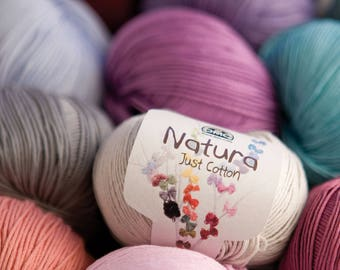 Natura Just Cotton Yarn 50g
