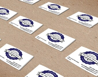Custom Business Card Printing - Your Design