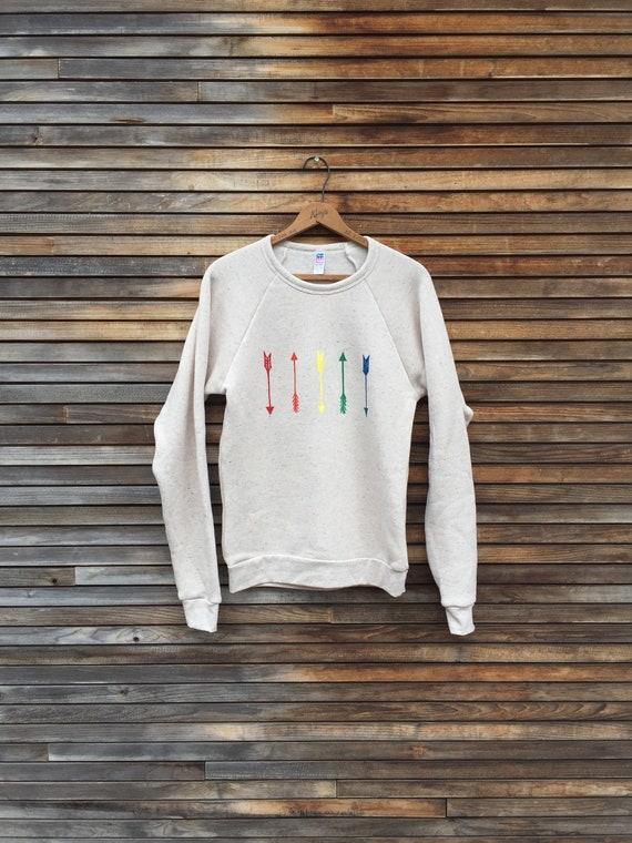 go your own way Sweatshirt, Yoga Top, Rainbow Fashion, Pride Shirt, Unisex Top