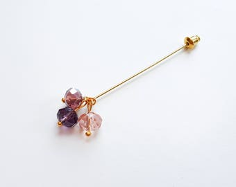 Crystal Hijab Pin with Long Pin Tin | Hijab Accessories | Eid Gift