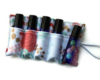 Essential Oil Case~Doterra Oils~Young Living Oils~Essential Oil Holder~The Cotton Rooster~Essential Oil Insert~Bag Insert~Rollerball~