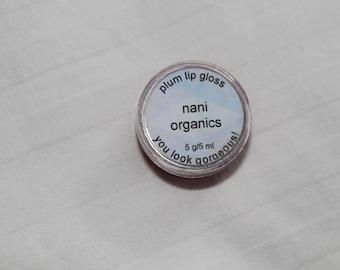 Plum Pink Lip Gloss - 5 gram