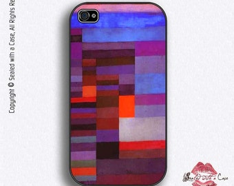 """Paul Klee Painting """"Fire in the Evening"""" - iPhone 4/4S 5/5S/5C/6/6+ and now iPhone 7 cases!! And Samsung Galaxy S3/S4/S5/S6/S7"""