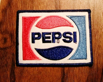 Vintage Pepsi Embroidered Patch