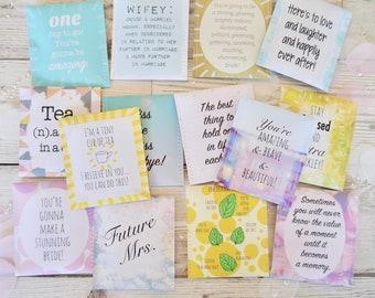 Wedding Count Down Tea Gift Set