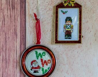 Santa or Soldier Ornament