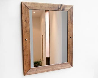 framed modern mirror. Rustic Wood Mirror, Framed Modern Mirror