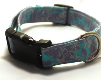 Blue Splash Collar