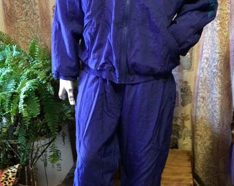 Vintage Reebok nylon track suit