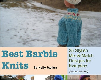 Best Barbie Knits, ebook, Barbie Knitting Patterns