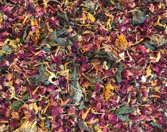Signature mix: 1 (ONE) lb. Dried Herbs for Chicken nesting box for Happy hens