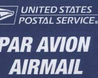 First Class International Mail Postage Add On