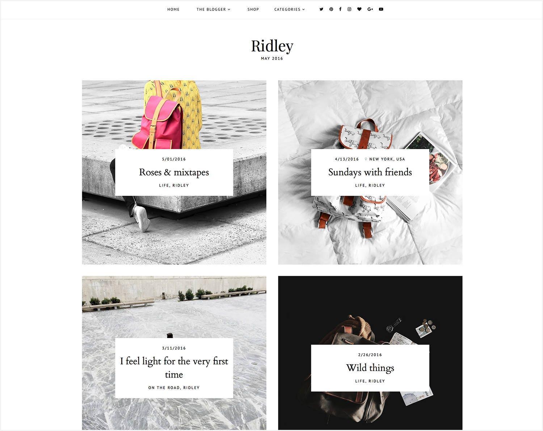 Fantastisch Kostenlose Blogger Vorlagen Einfach Ideen - Beispiel ...