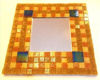 FREE UK POSTAGE! Ready to make Mosaic Mirror Kit Medieval. Includes everything you need. Fun mosaic Kit for all ages