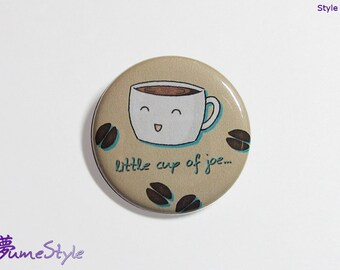 Button - Little Joe the Happy Coffee  Style 3
