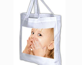 Personalized with your photo tote bag