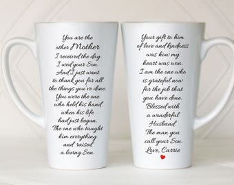 Mother of the Groom gift, Mother in law gift, Mother of the groom wedding gift, Mother of the groom gift from bride, Mother of the groom mug
