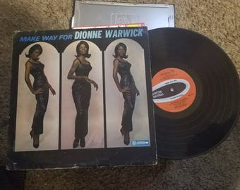 Make Way for Dionne Warwick Record LP Vinyl
