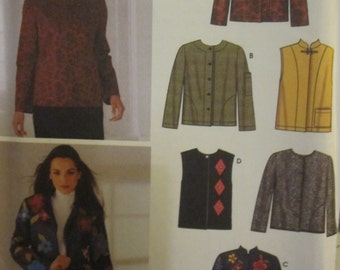 BOSS SIMPLICITY 5907 6 Jackets made easy for ladies