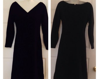 Gorgeous Black Anne Fogarty Vintage Dress