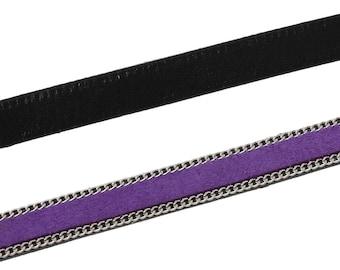 Approximately 1 m 10mm - SC57896 - purple velvet cord