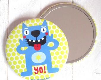 Cat Pocket mirror