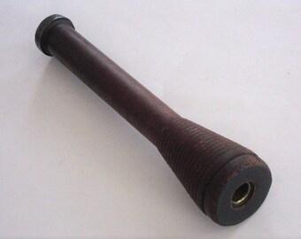 Large Vintage Industrial Wood Bobbin or Spool
