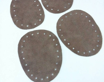 Slipper Soles - nonslip leather bottoms for slippers and shoes