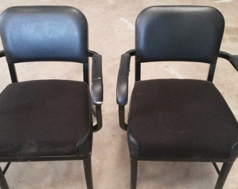 Superieur Vintage Metal Office Chairs, Vintage Office Chairs, All Metal Chairs, Metal  Arm Chairs, Office Chairs, Local P/U Only