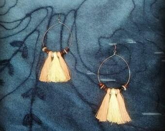 Crochet & Handmade Earrings, Crochet Earrings Hoop for Women