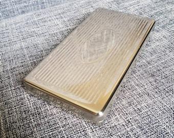 Metal Embossed Cigarette Case