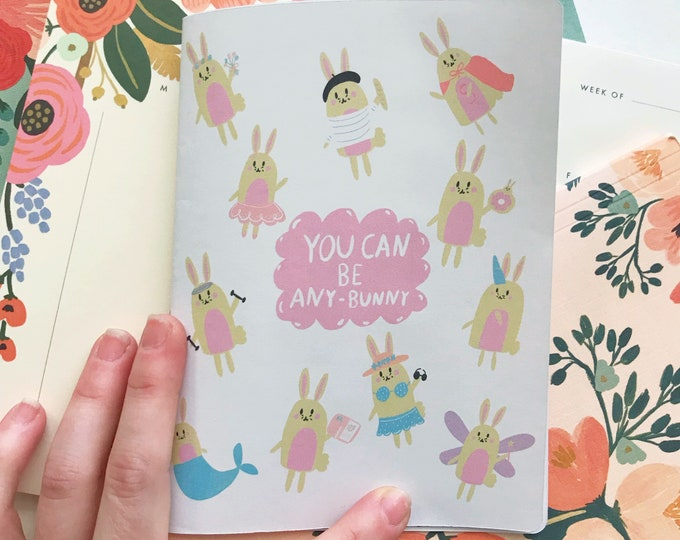 You Can Be Any Bunny Sticker Book