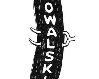 Kowalski, Detroit Giclee Print 8x10