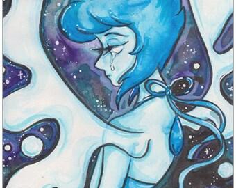 LAPIS LAZULI Steven Universe Fan Art Print A5