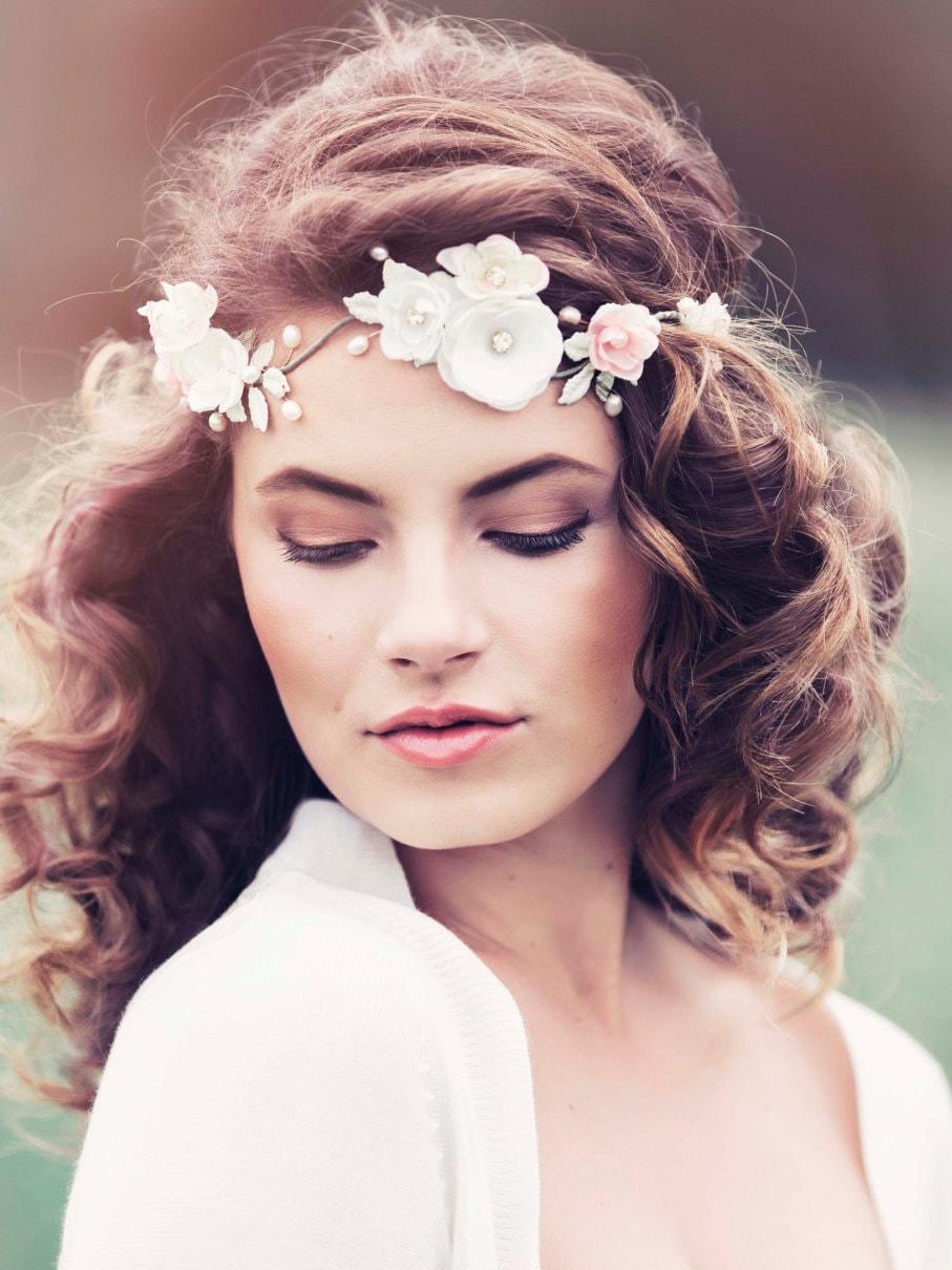 Romantic Decorative Wedding Hair vine Wedding headpiece