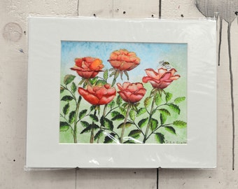 """Between the Petals Giclee Print 11x14"""" 100% of the profits go directly to artists with disabilities Item 211 Ken S."""